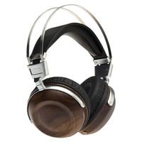 C1 Überwachung HIFI Kopfhörer 50mm Beryllium Membran Dynamische Holz Kopfhörer Bass Stereo Studio Audio Überwachung Metall Headset