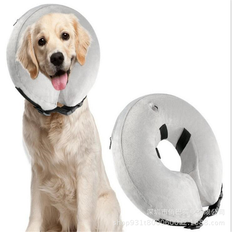 Inflatable Pet Collar Inflatable Dog Collar Warm Protection Wound Pet Collar Large Amount