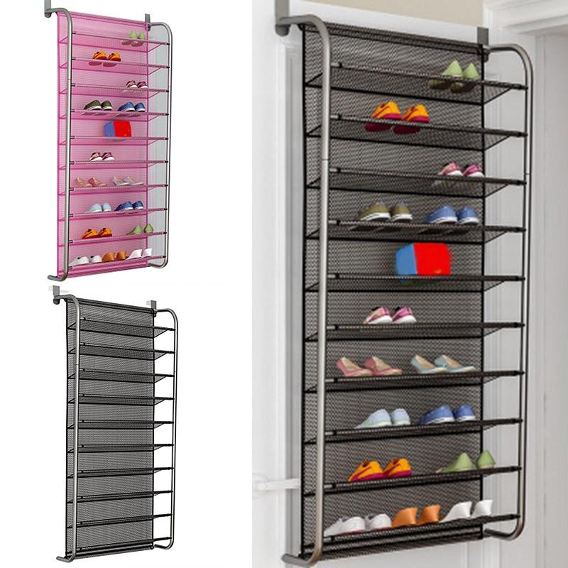 10-layer storage shoe rack door hanging shoe rack multilayer simple household shoe rack shoe storage bag