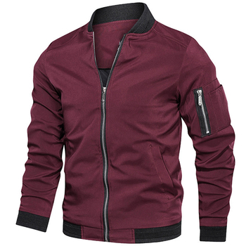 Mens jackets and coats Men's bomber jacket Spring   6