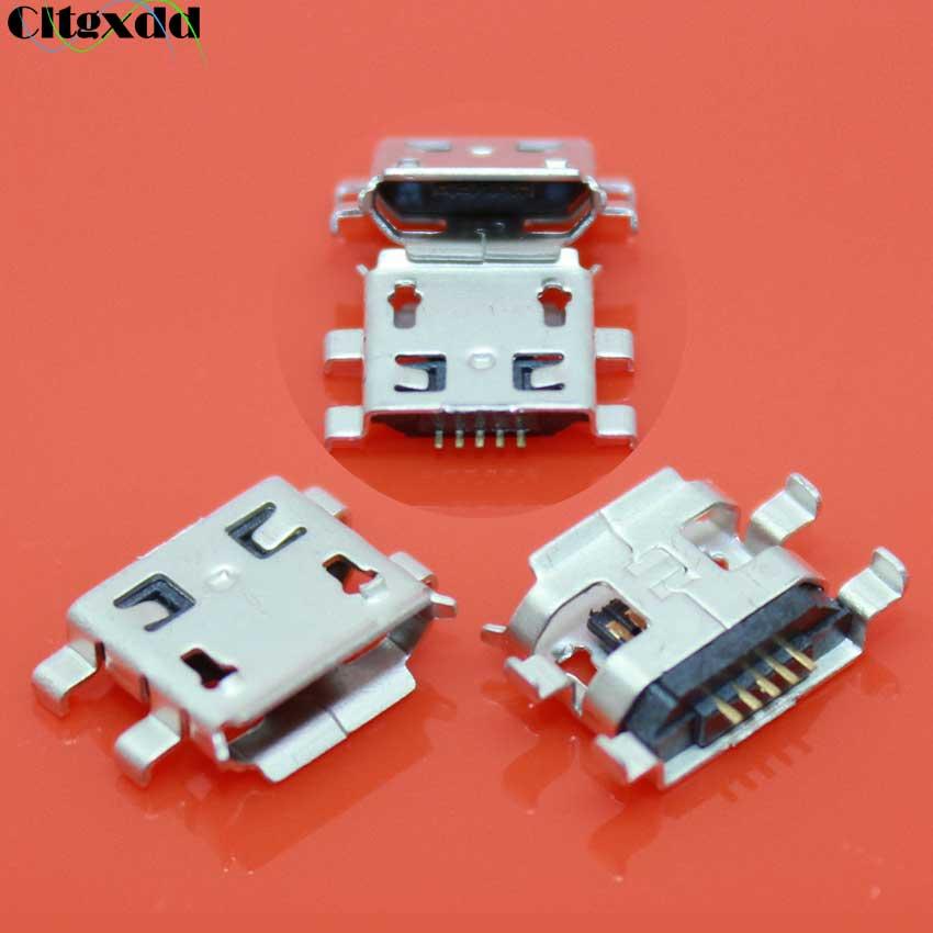 Cltgxdd Micro USB Connector Charging Socket for Xiaomi M1 M2 Lenovo S680 S686 S720 S850 S880 S890 P700 A690 A698T Huawei C8650