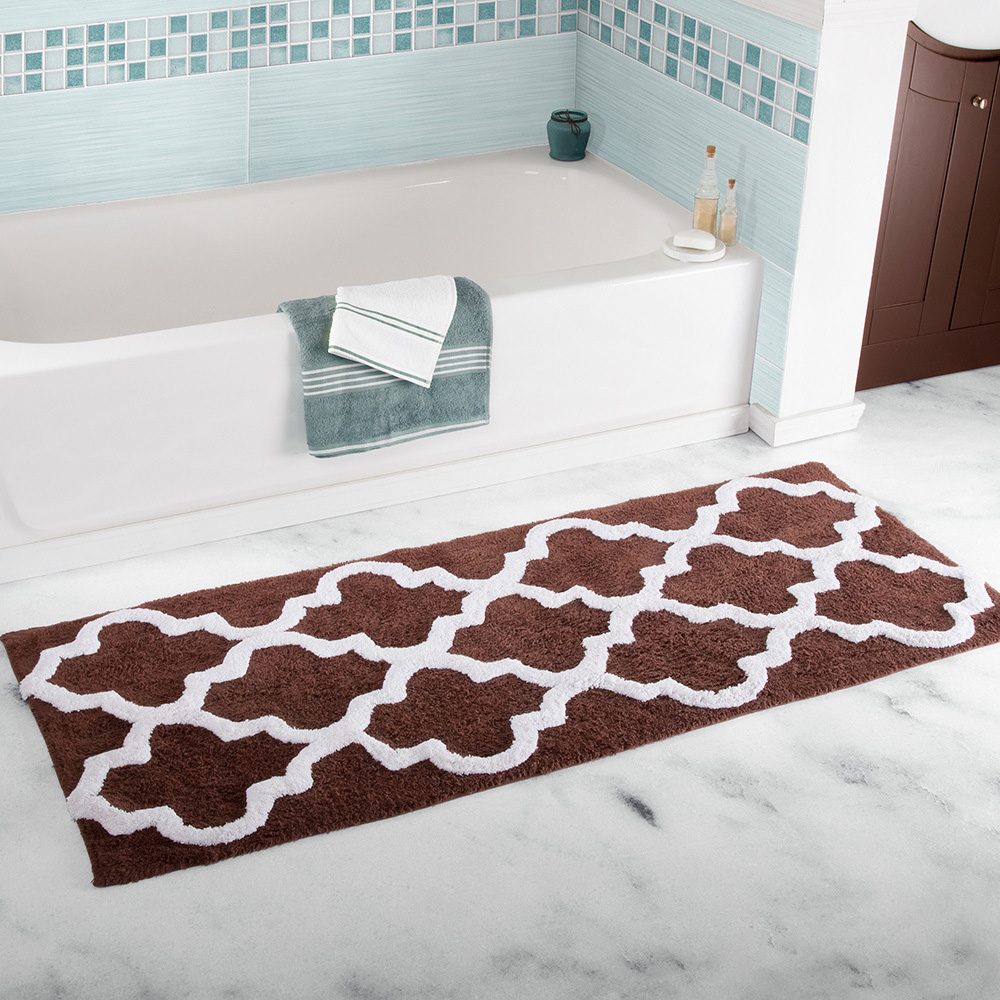 Anti-slip Home Entrance Carpet Washable Kitchen Floor Mat Set Water-Absorbent Doormat Living Room Area Rug