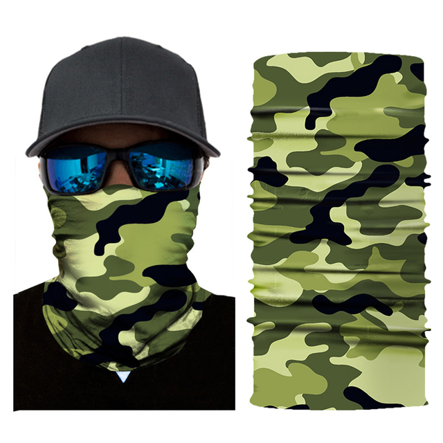 Breathable Motorcycle Face Shield Mask 3D Triangle Neck Balaclava Headband Anti-pollution Cycling Ski Scarf Men Women 5