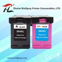 304XL Cartucho de tinta para hp 304 para hp 304 xl deskjet envy 2620 2630 2632 5030 5020 5032 3720 3730 5010 printer