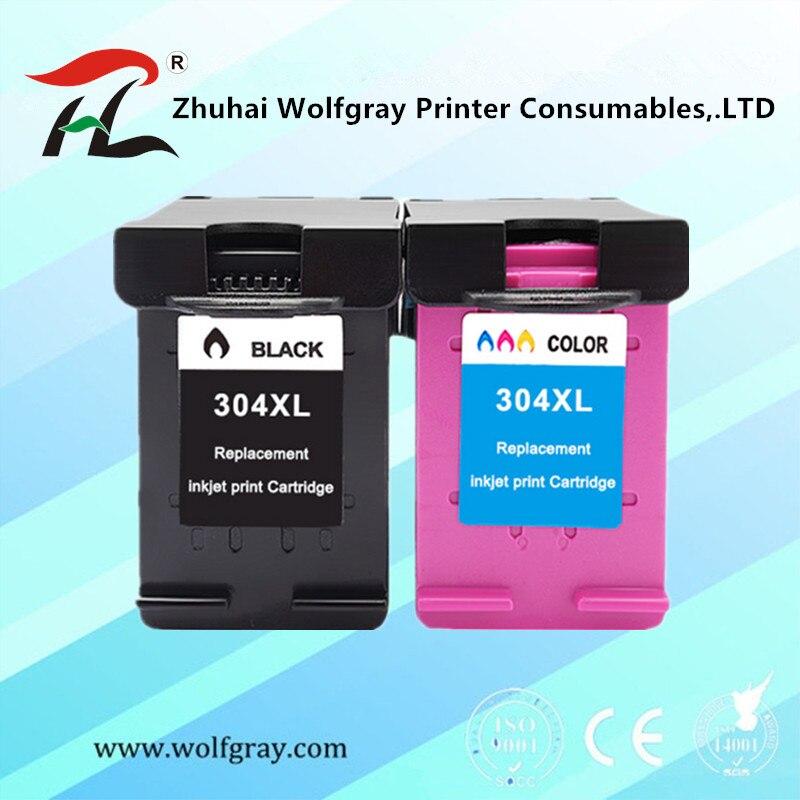 304XL nova versão Cartucho de tinta para hp 304 para hp 304 xl deskjet envy 2620 2630 2632 5030 5020 5032 3720 3730 5010 printer