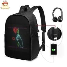 цена на Lil Peep Backpack Lil Peep Backpacks Street Teenage Bag Trendy High quality Print Multi Pocket Bags