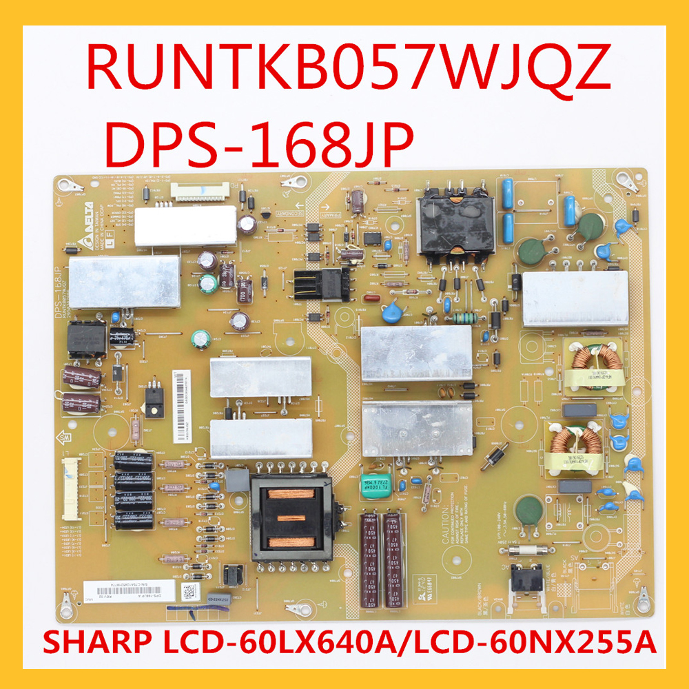 RUNTKB057WJQZ DPS 168JP FOR SHARP LCD 60LX640A LCD 60NX255A Power Board For TV Professional TV Accessories Power Source Circuits  - AliExpress