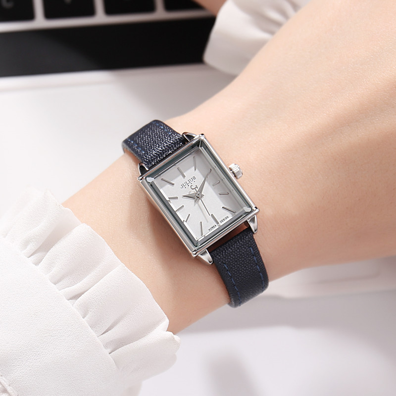 Women's Genuine Leather Wristwatch Woman Fashion Casual Quartz Watch Girls Antique Simple Watches Luxury Clock Bracelet Waches|Women's Watches| - AliExpress