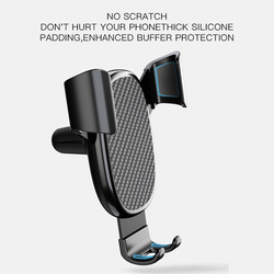 Universal Car Phone Holder Clip Fold Holder Mount Stand Bracket Mobile Phone Holder support smartphone Phone Stand Steady Fixed