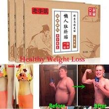 10 pçs/caixa medicina chinesa emagrecimento dietas remendo perda de peso mais forte magro remendo almofadas detox adesivo folha face lift ferramenta
