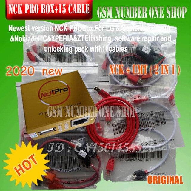 2020 новейший оригинальный NCK Pro box NCK Pro 2 box (поддержка NCK + UMT 2 в 1) для huawei + 16 кабелей