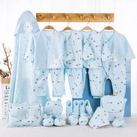 Kidlove 22pcs Infant Cartoon Print Newborn Clothes Set Cotton Infant Clothing Suit Baby Girl Outfit New Born Baby Clothes Gift