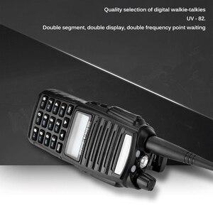 Image 4 - Walkie Talkie 50km 5W UV 82 Two Way Radio Station Transceiver Dual Band Communicator USB Charging Waterproof Walkie Talkie
