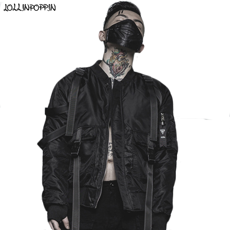 X-Future Mens Thicken Ma-1 Flight Zip-Up Stand Collar Bomber Quilted Down Jacket
