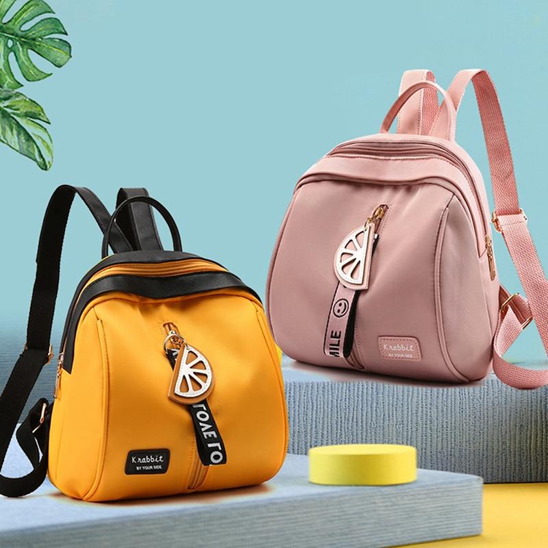 Mini Backpack Women Shoulder Bag For Teenage Girls Kids Multi-Function Small Bagpack Female Ladies School Backpack