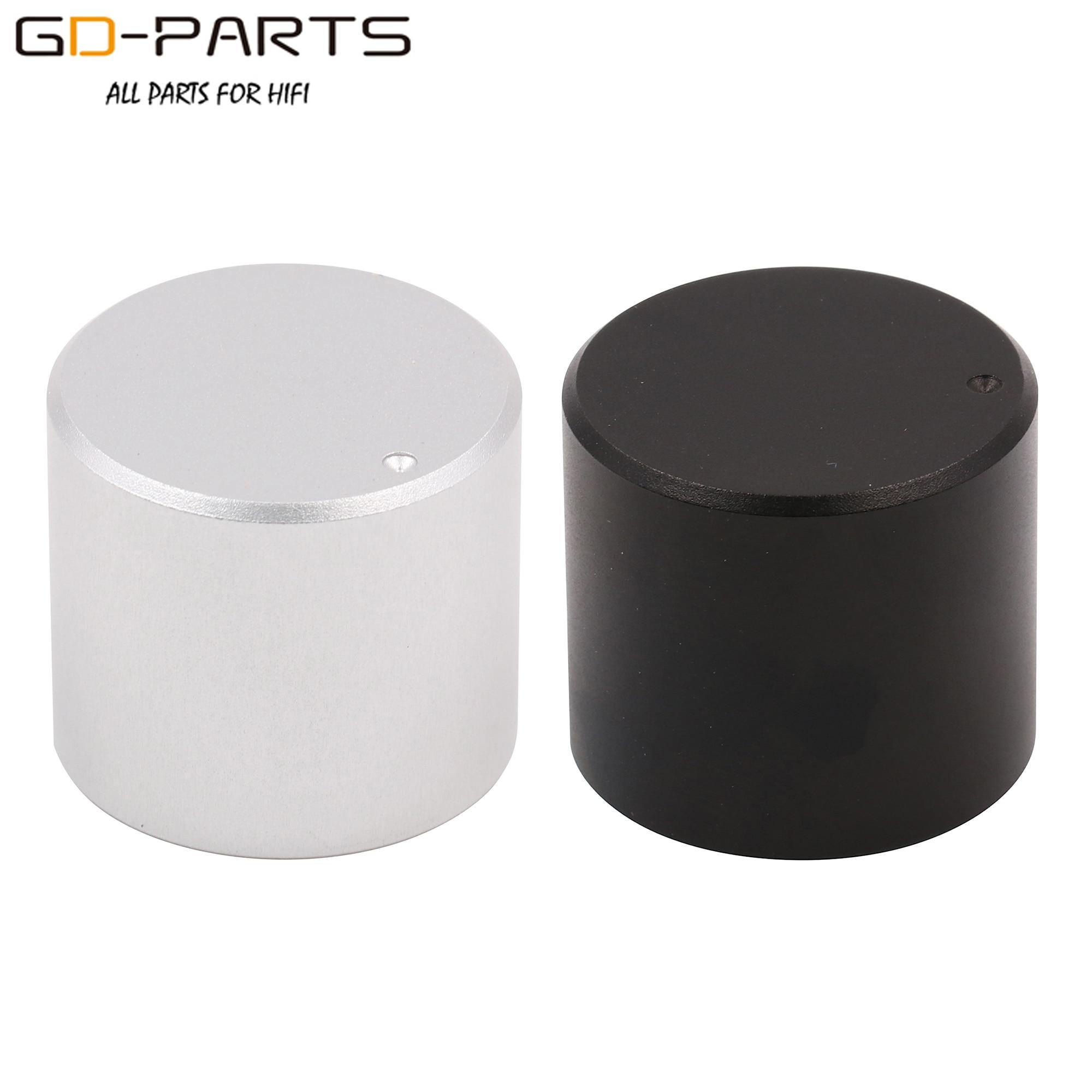 25*22mm Machined Solid Aluminum Volume Potentiometer Knob HIFI Car Audio Tube Headphone AMP Sound Control Cap Button