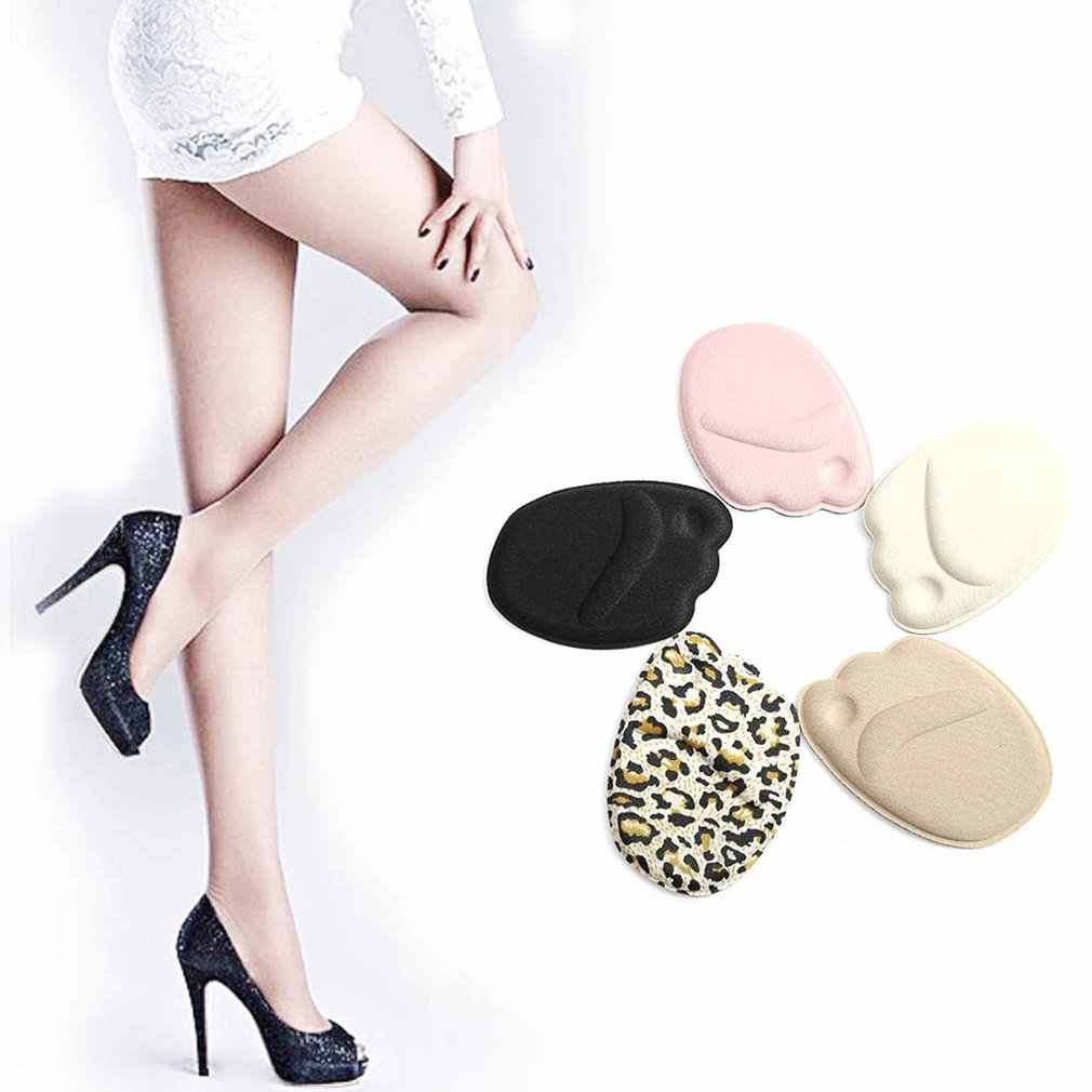 High Heels Half Yards Mat Silicone Compressive Soft Inserting Insole Woman Forefoot Protection Pad Female Insert