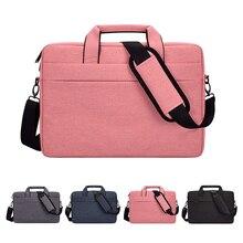 Laptop Bag 13.3 15.6 14 Inch Waterproof Notebook Bag Sleeve For Macbook Air Pro 13 15 Computer Shoulder Handbag Briefcase