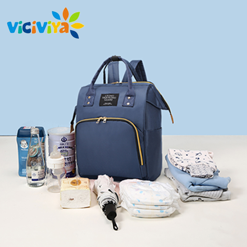 Large Capacity Baby Diaper Bag For Mummy Maternity Nappy Bag Mom's Backpack Nursing Bag Mummy Travel Backpack Zippers