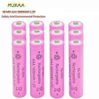 4-10Pcs/MJKAA NI-MH AAA 1600Mah 1,2 V Akkus aaa Batterien High-kapazität Für spielzeuguhr und Maus Kamera