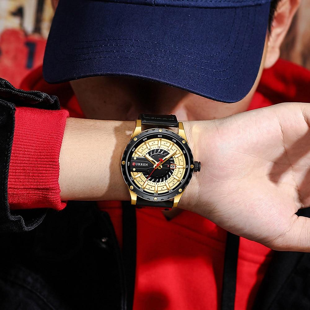 H625a5cf15a974b7db24f88786753262df CURREN Watch Wristwatch  New Chic Luminous hands