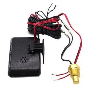 Image 4 - 12V/24V Car LCD Water Temperature Meter Thermometer Voltmeter Gauge 2 in 1 Temp & Voltage Meter 10mm Water Temp Sensor motor