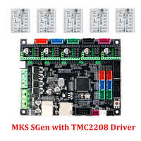 MKS SGen L 32Bit ARM Smoothieboard Compatible Marlin2.0 Smoothieware for LV8729 TMC2208 TMC2130 Driver SKR V1.3 Support Uart/SPI