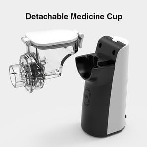Image 2 - BGMMED Mini Portable nebulizer Handheld inhaler nebulizer for kids Adult Atomizer nebulizador medical equipment Asthma