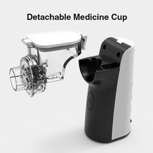 Image 2 - Bgmmed mini nebulizador portátil handheld inalador nebulizador para crianças adulto atomizador equipamentos médicos asma