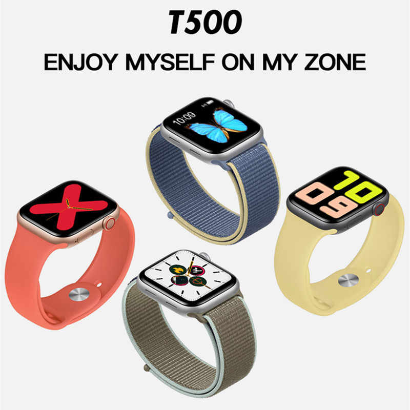 2020 قمة Smartwatch سلسلة 5 IWO13 T500 بلوتوث دعوة 44 مللي متر ساعة ذكية مراقب معدل ضربات القلب ضغط الدم VS PK IWO 12 IWO 8