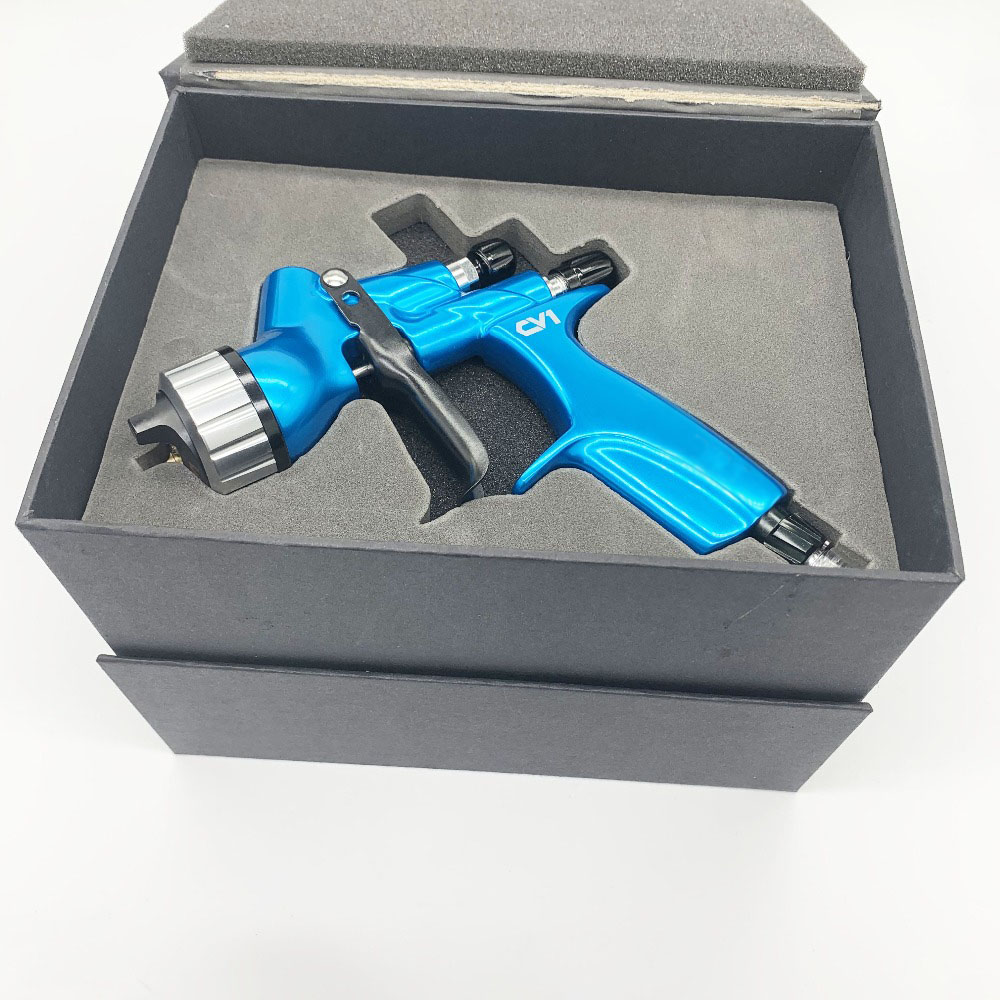 Automotive Refinishing HVLP Air Paint Spray Gun CV1 PLUS Paint Spray Gun /Water-based /Automotive Varnish Spray Pistol With Tank