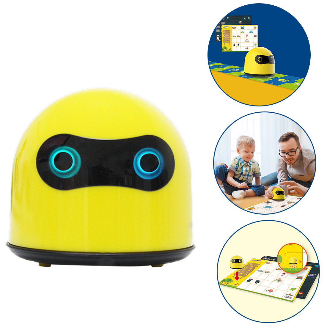 High Recomend 1 Pcs Programmed Robot Car Kit Steam Early Education Learning Ai Programming Toy With High Quality