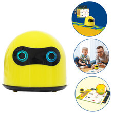High Recomend 1 Pcs Programmed Robot Car Kit Steam Early Education Learning Ai Programming Toy With High Quality(China)