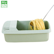 MyLifeUNIT Microwave Pasta Spaghetti Cooker Cookware Eco-Friendly Cooking Noodle Storage Box Kitchen Tool