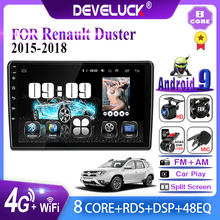 Develuck 2 din Android Car Radio Navigation GPS For Renault Duster 2015 2016 2017 2018 Multimedia Video Player 2din IPS 2 din AM(China)