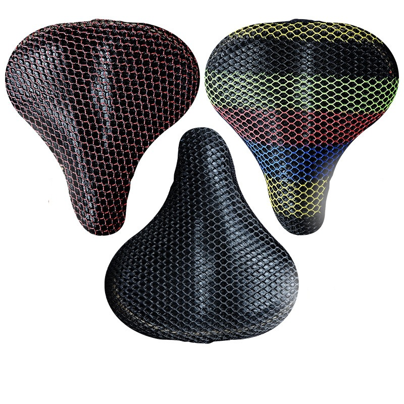 Four Seasons Universal E-Bike Seat Cover Cushion Cover Sun-resistant Insulated Breathable Yadi Electric Bicycle Seat Cover Rear