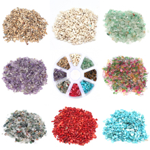 50g Natural Stone Agates Powder Crystal Gravel Rock Raw Gem Mineral Fish Tank Bonsai Garden Decoration Tumbled Energy