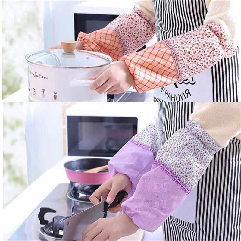 1Pair Women Cleaning Waterproof Sleeve Oversleeve Housework Arm Sleeve/_CE