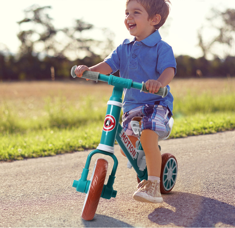 2020 nuevo 86X55X30cm fibra de carbono completa bicicleta de equilibrio para niños de dos seis años de edad - 6