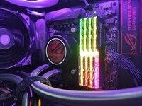 Barra de guía de luz de memoria RAM para Tridente G Skill Z Neo RGB, cambio a serie real, mejora la transmitancia de luz sin desmontaje