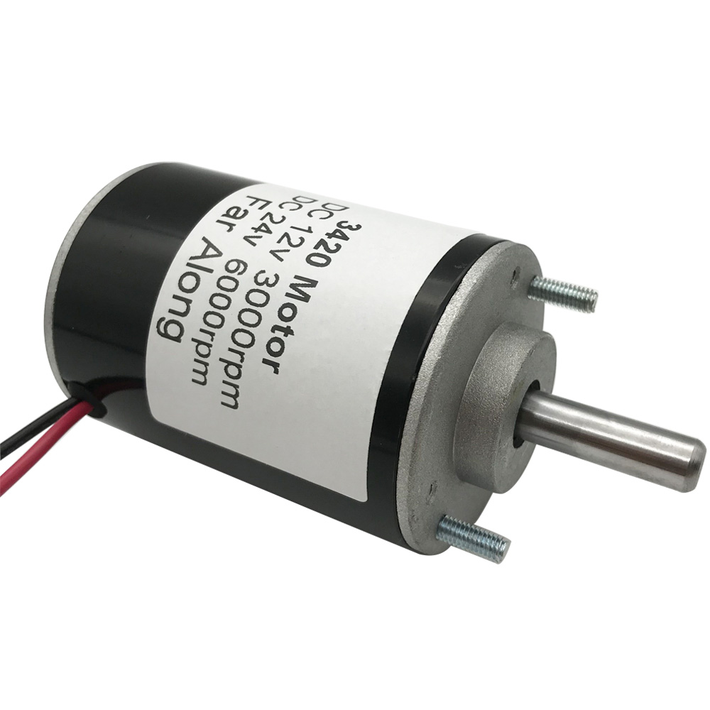 Micro Permanent Magnet High Speed <font><b>DC</b></font> <font><b>Motors</b></font> <font><b>12V</b></font> 3000RPM 24V <font><b>6000RPM</b></font> 30W Adjustable Speed Reversed In <font><b>DC</b></font> <font><b>Motor</b></font> For Smart Device image