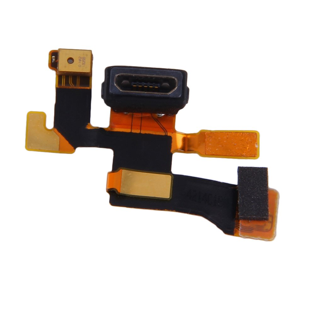 Golden Micro <font><b>USB</b></font> Connector Microphone Charging <font><b>Port</b></font> Flex Cable For <font><b>Nokia</b></font> <font><b>Lumia</b></font> <font><b>1020</b></font> Durable and High quality replacement part image