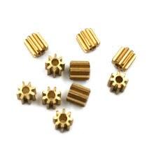82A 0,6 м медная Шестерня диаметром 6 мм 0,6 модуль 8 отверстие для зуба 1,98 мм латунная Шестерня маленькая игрушка Мотор шестерня s