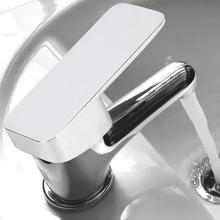 Square Mixing Valve Handle Bathroom Basin Faucet Tap Accessories Supplies