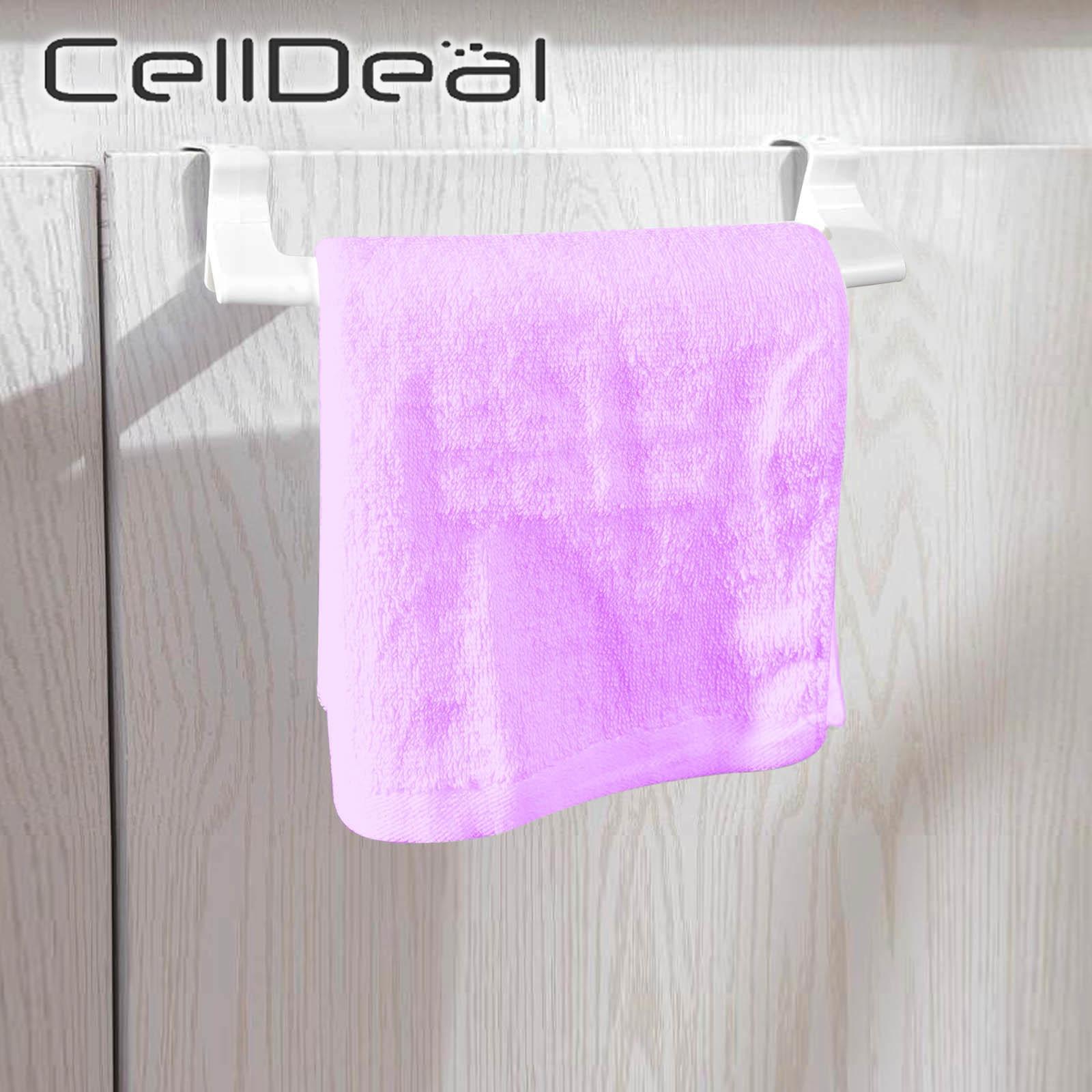 Вешалка для полотенец над дверью, вешалка для полотенец, подвесной держатель, органайзер, вешалка для ванной, кухни, шкафа, полка, удобный де...