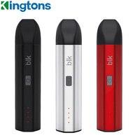 Kingtons-vaporizador de hierbas secas BLK Nova, batería de 1600mAh, cámara de calefacción de cerámica, Kit de pluma de vapeo Herbal, vaporizador de tabaco