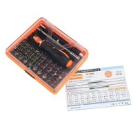 53 in 1 Multi purpose Precision Magnetic Screwdriver Set with Trox Hex Cross Flat Y Star Triangle Screw Driver For Phone PC|Screwdriver| |  -