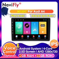 DSP Android 10.0 Car GPS navigation Player For Audi A4 B6 B7 S4 B7 B6 RS4 B7 2002 2008 Car multimedia With IPS screen CARPLAY BT
