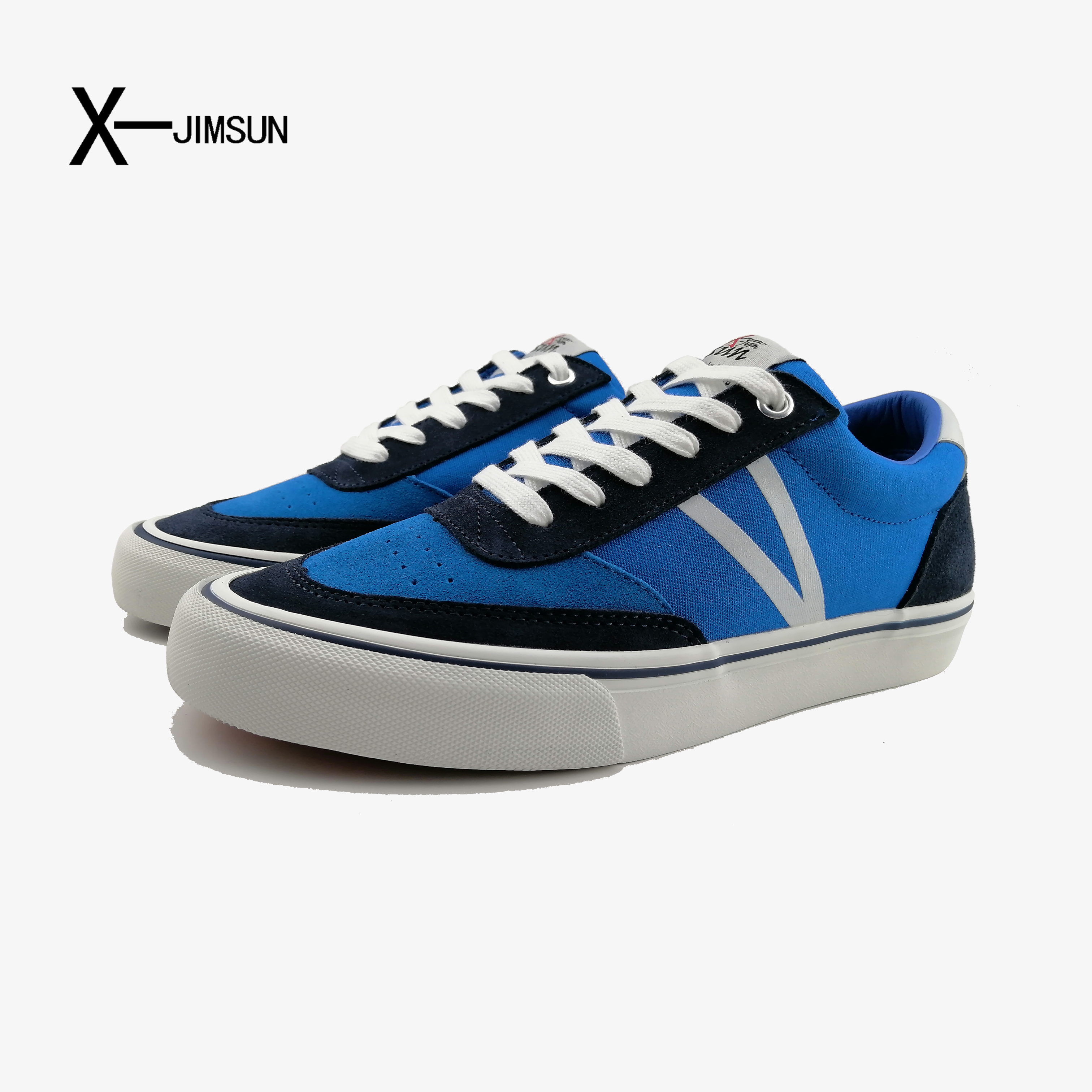 X-jimsun original brand design trend casual shoes men's new summer sports shoes low top breathable skateboard shoes