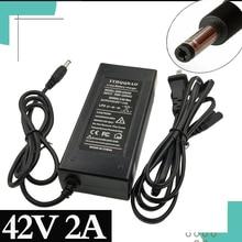 36V Batterij Oplader 42V Output 2 100 240V Input Voor 10Serie 36V Elektrische fiets Batterij Oplader Eu/Us Dc Plug. Us/Ua/